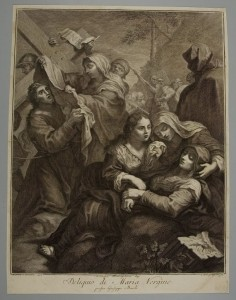 Carlo Gregori, Italian (1719 - 1759), Swooning of the Virgin Mary