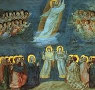 Giotto di Bondone (1304-1306) (Mary with Disciples)
